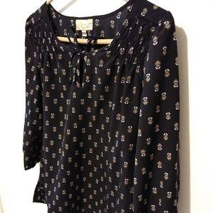 Vera wang princess blouse